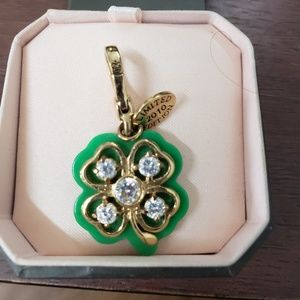 RARE Four Leaf Lucky Juicy Couture charm LE 2010